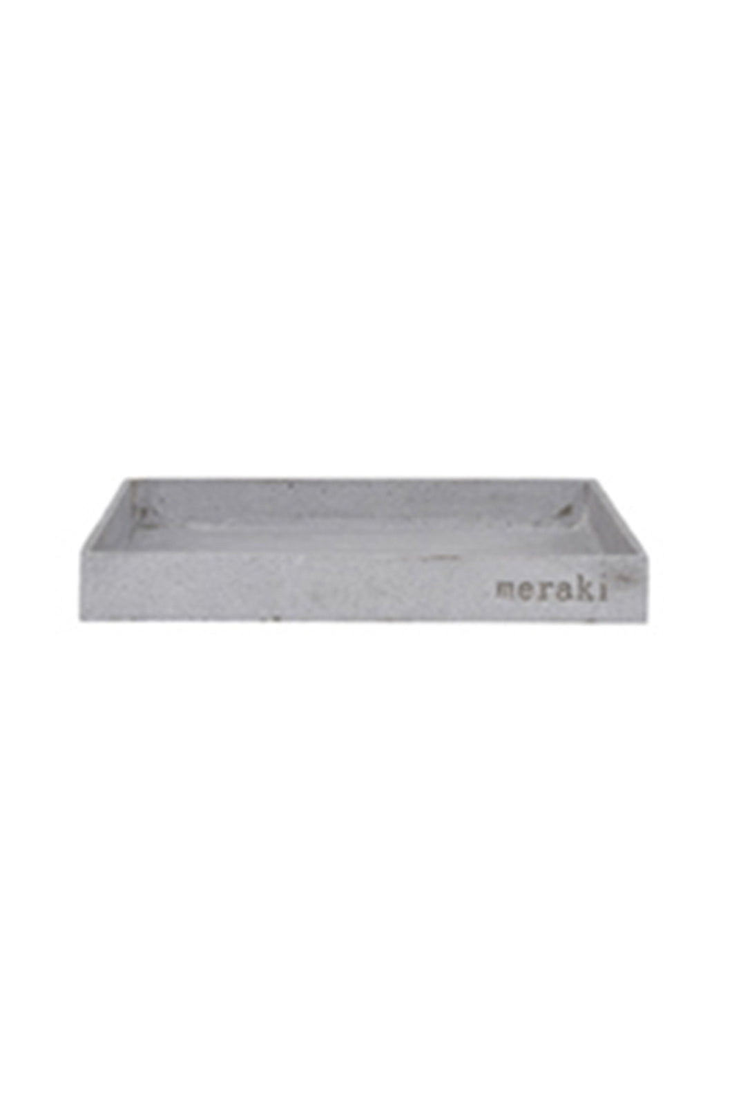 Meraki - Tray - Concrete - Large