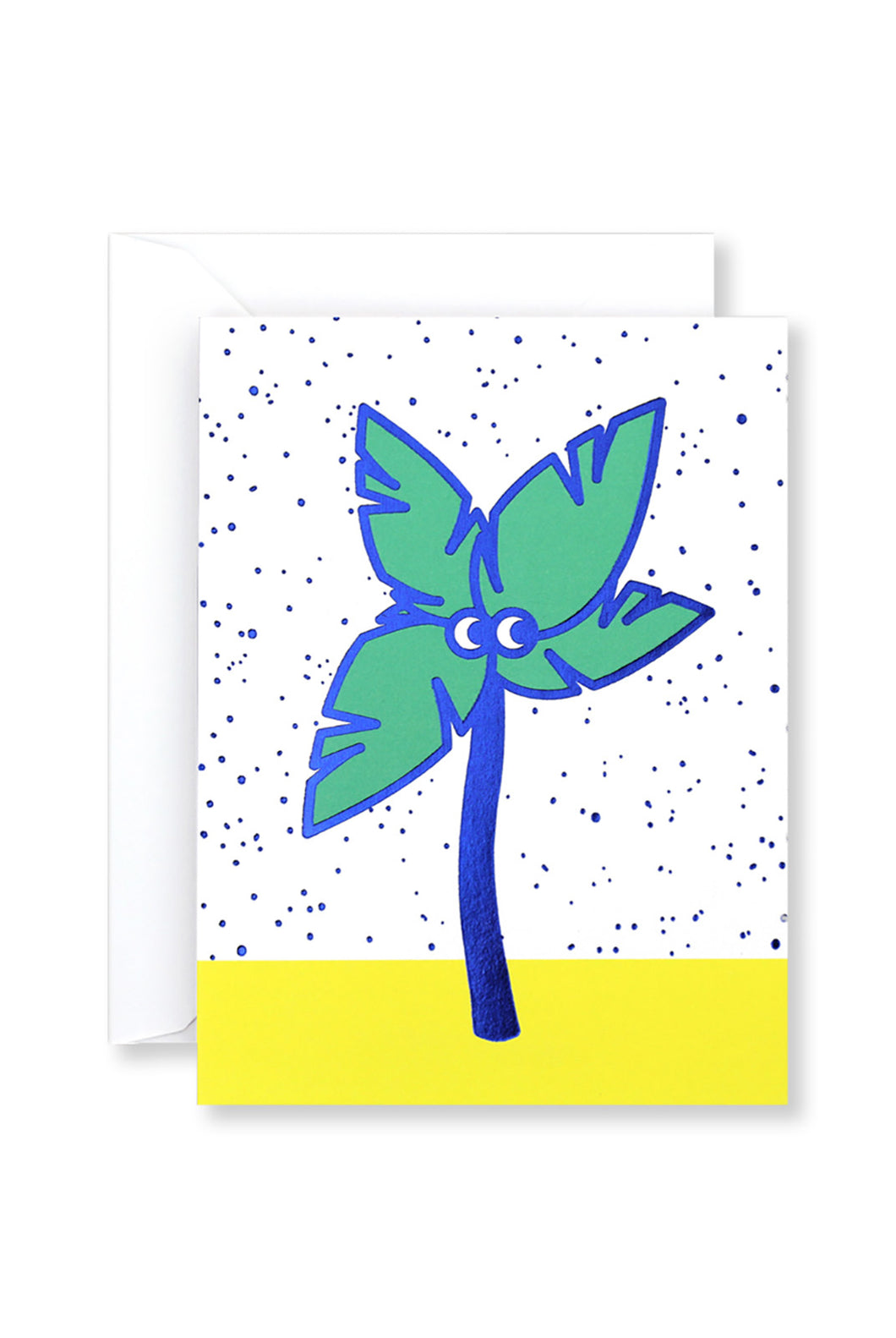 WRAP - Mini Collection - Single Card with Foil - Palm Tree Guy