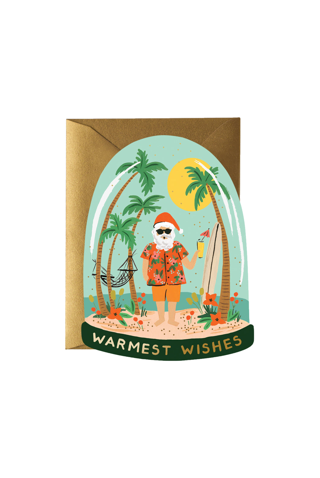 Rifle Paper Co - Single Card - Warmest Wishes