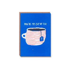 Egg Press - Single Card - Cup of Tea