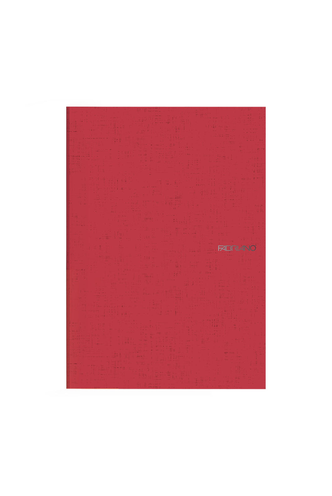 Fabriano Boutique - EcoQua Plus Notebook - Ruled - A4 (21x29.7cm) - Red