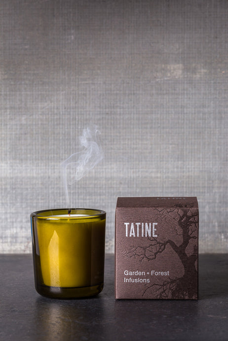 Tatine - Scented Candle - Garden and Forest Infusions Collection - Woodsmoke