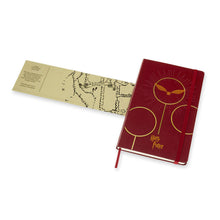 Load image into Gallery viewer, Moleskine - 2020 Limited Edition Harry Potter - Ruled - Large - Bordeaux Red