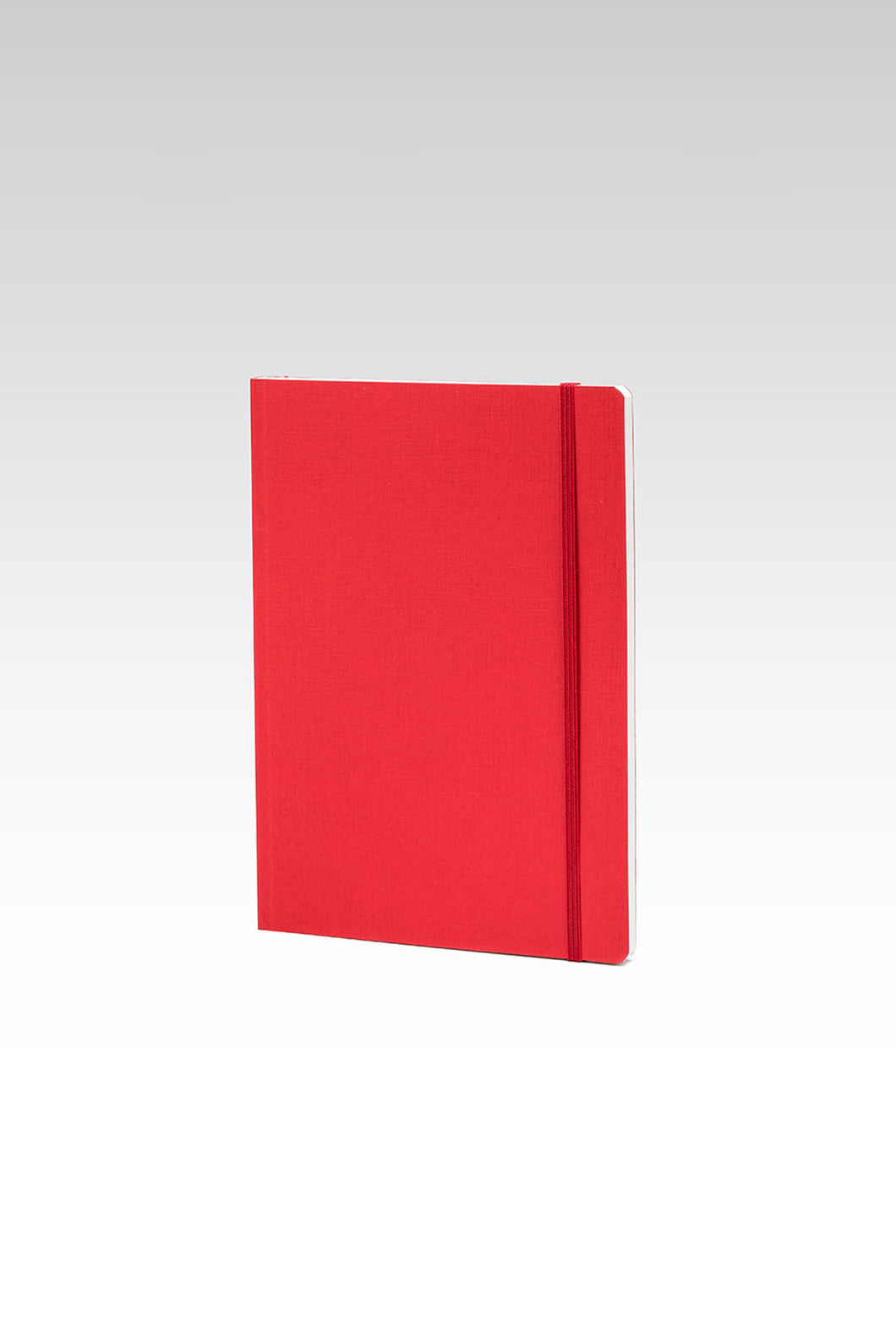 Fabriano Boutique - EcoQua Notebook with Elastic Band - Ruled - A5 (14.8x21cm) - Raspberry
