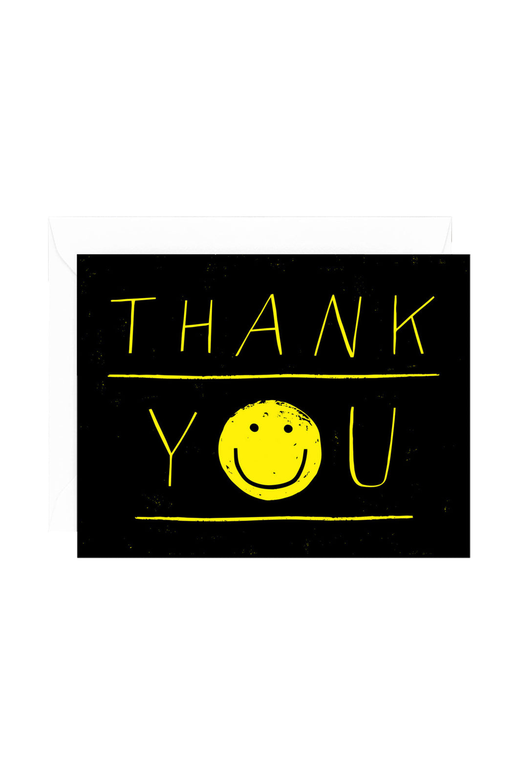 WRAP - Sandi Falconer Collection - Single Card with Foil - Thank You Smiley