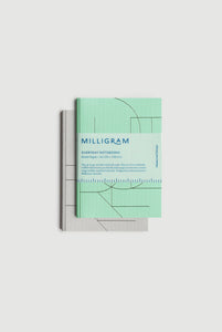 Milligram - Everyday Notebook - Set of 2 - Ruled - A6 (15 x 10cm) - Mint & Grey