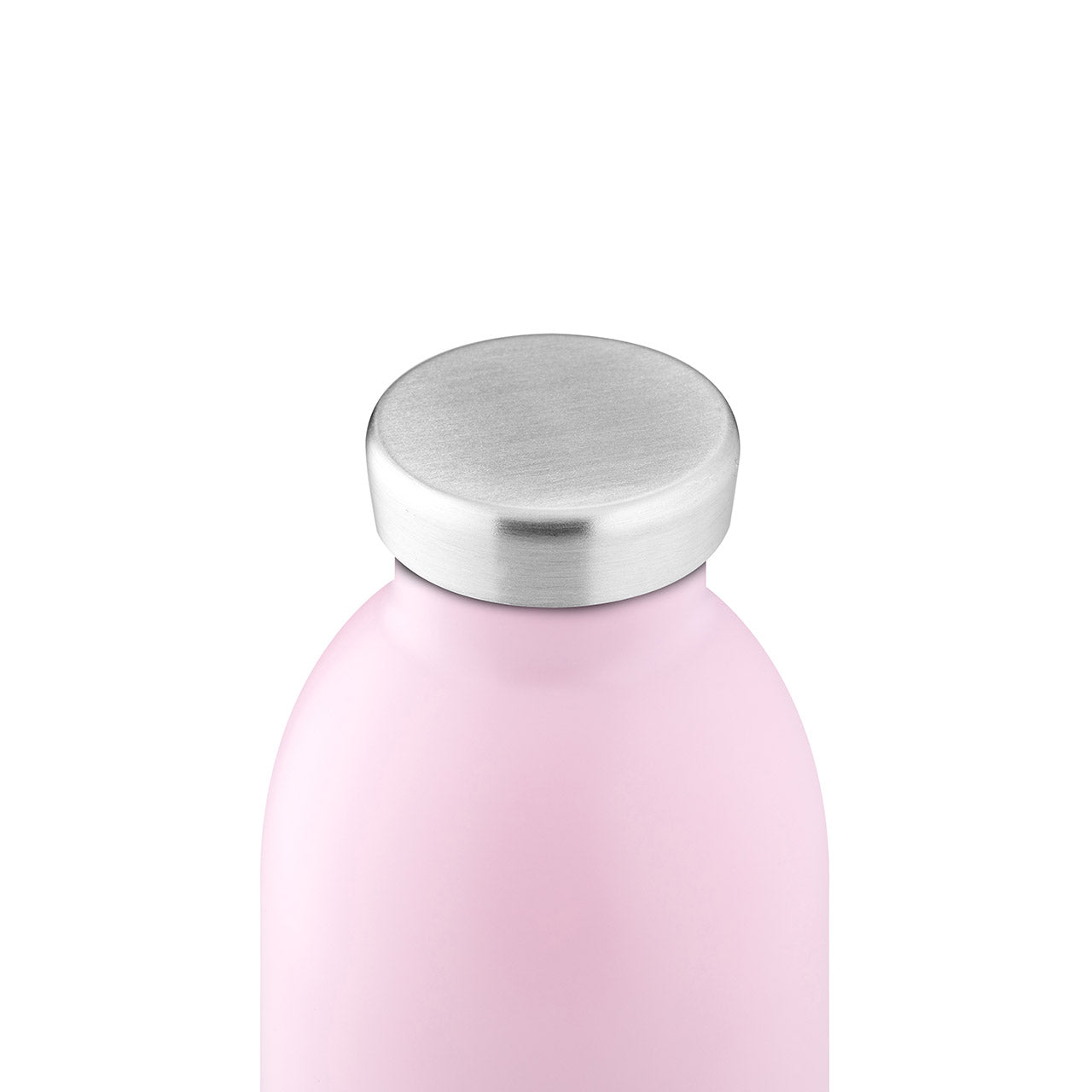 24Bottles - Pastel Collection - Clima Bottle - Stainless Steel Drink Bottle - 500ml - Candy Pink