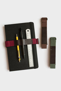 HIGHTIDE - Elastic Notebook Band - Wine