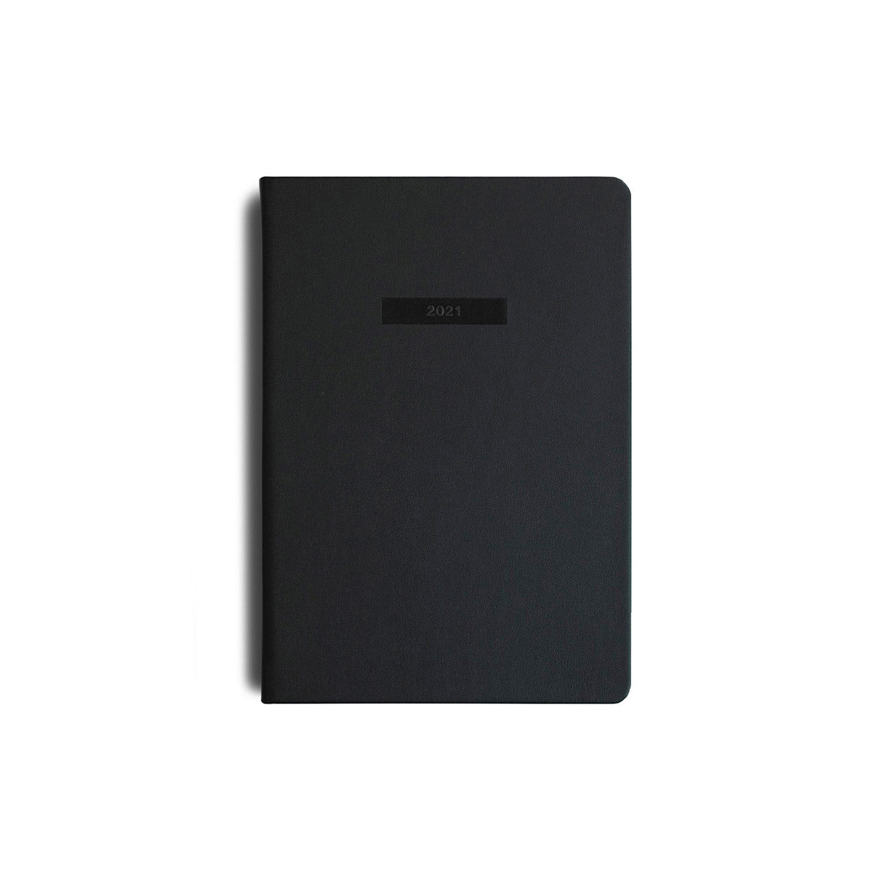 MiGoals - 2021 Classic Diary - Weekly + Notes - A5 - Soft Cover - Black
