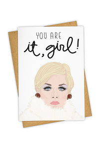 TAY HAM - Single Card - You Are It, Girl!