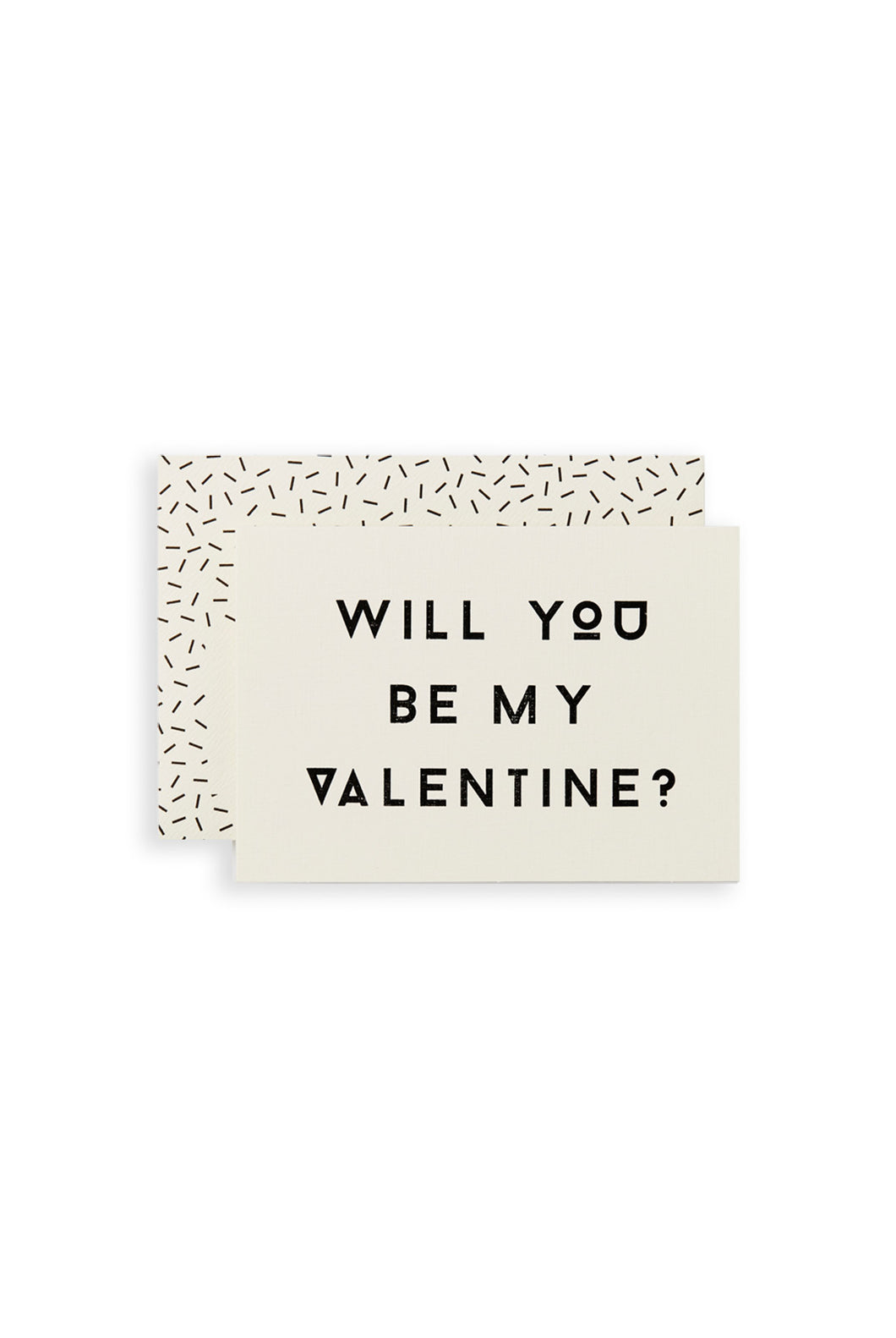 Katie Leamon - Single Card - Will You Be My Valentine?