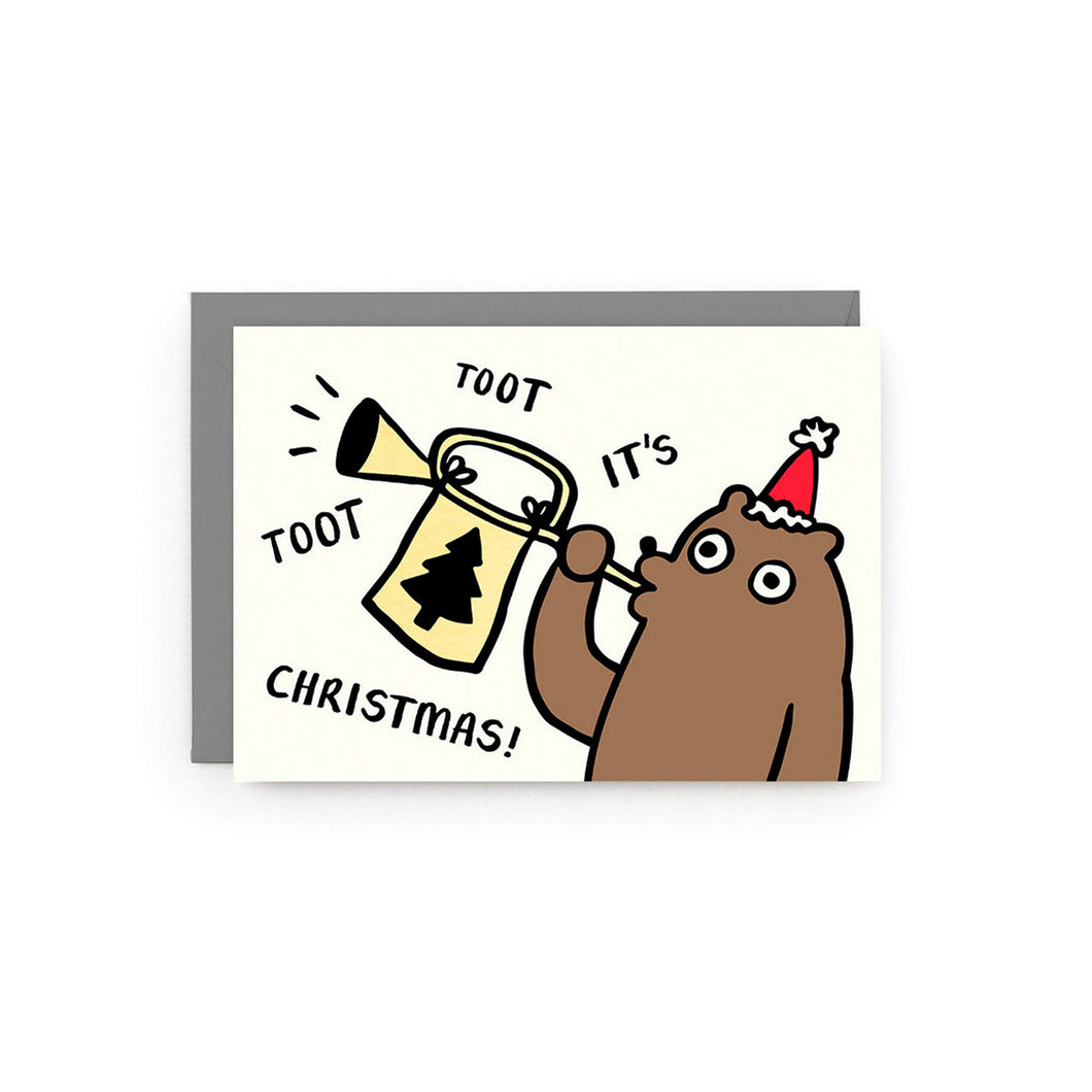 WRAP - Single Card - Tooting Bear