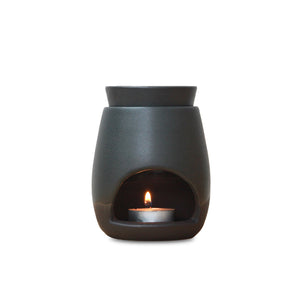 Arcadia Scott Ceramics - Oil Burner - Noir