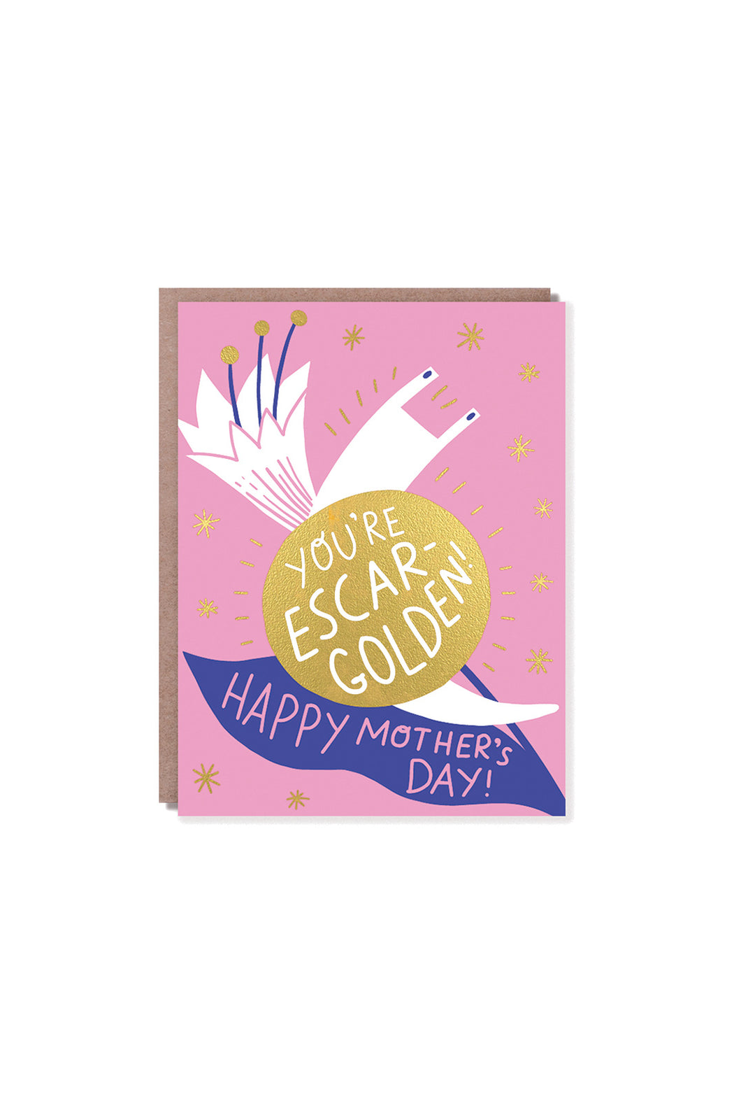 Hello Lucky - Single Card - Escar-Golden Mother's Day
