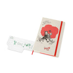 Load image into Gallery viewer, Moleskine - 2020 Limited Edition Wizard of Oz - Ruled - Large - Poppy Field