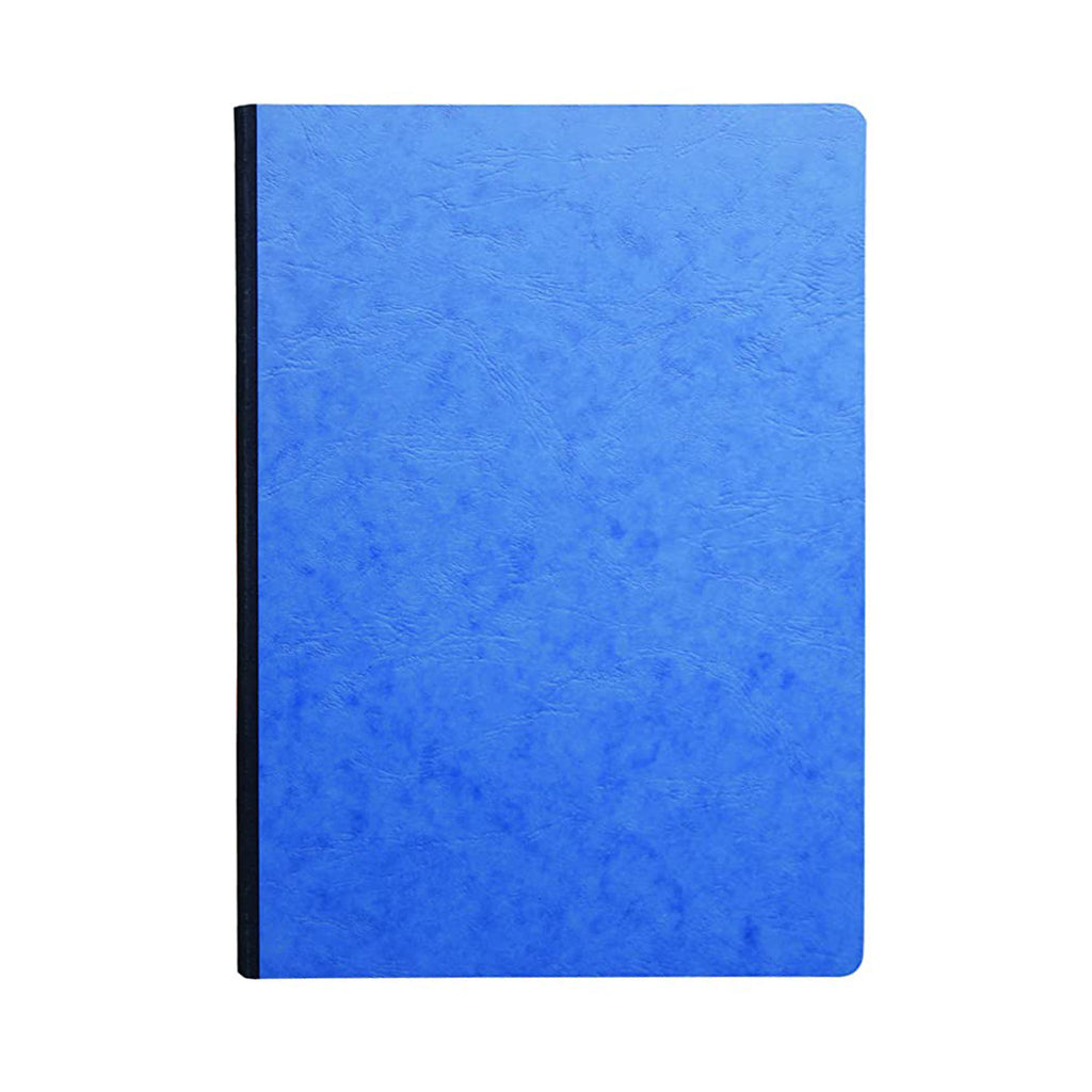 Clairefontaine - Life Unplugged Clothbound Notebook - Ruled - A4 (21x29cm) - Soft Cover - Blue