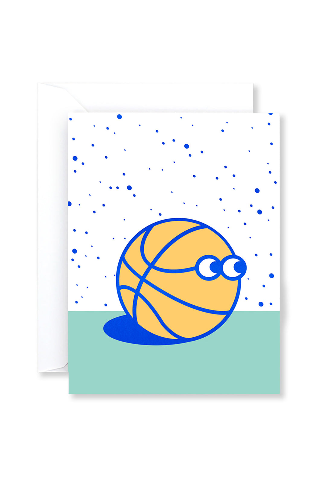 WRAP - Mini Collection - Single Card with Foil - Basketball Guy