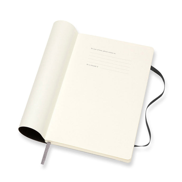 Moleskine - 2020-21 18 Month Soft Cover Diary - Weekly Notebook - Large - Black
