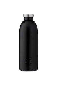24Bottles - Basic Collection - Clima Bottle - Stainless Steel Drink Bottle - 850ml - Tuxedo Black