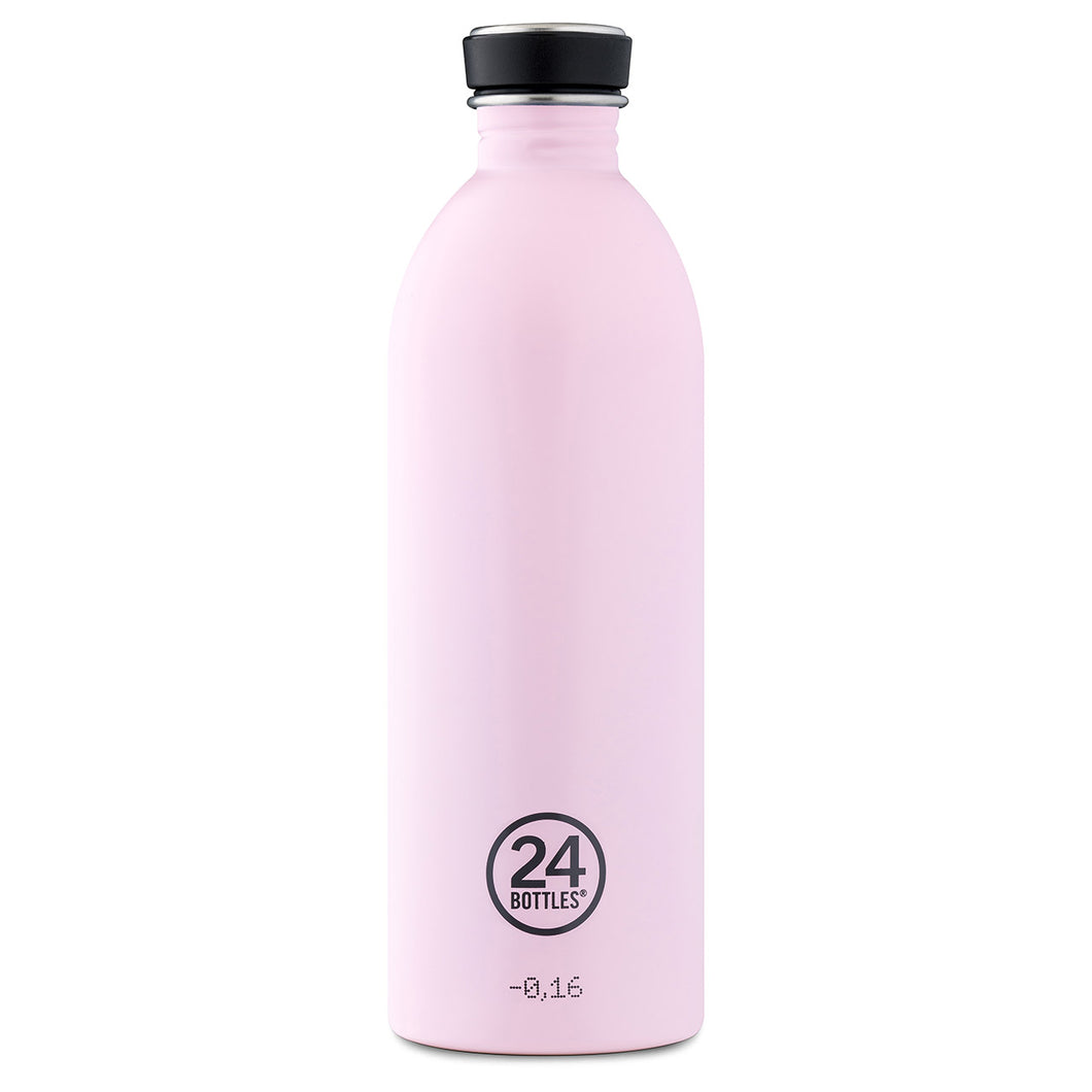 24Bottles - Pastel Collection - Urban Bottle - Stainless Steel Drink Bottle - 500ml - Candy Pink