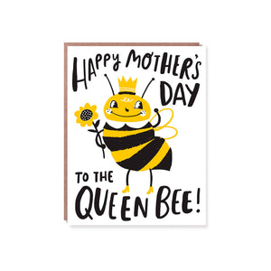 Hello Lucky - Single Card - Mother's Day Queen Bee