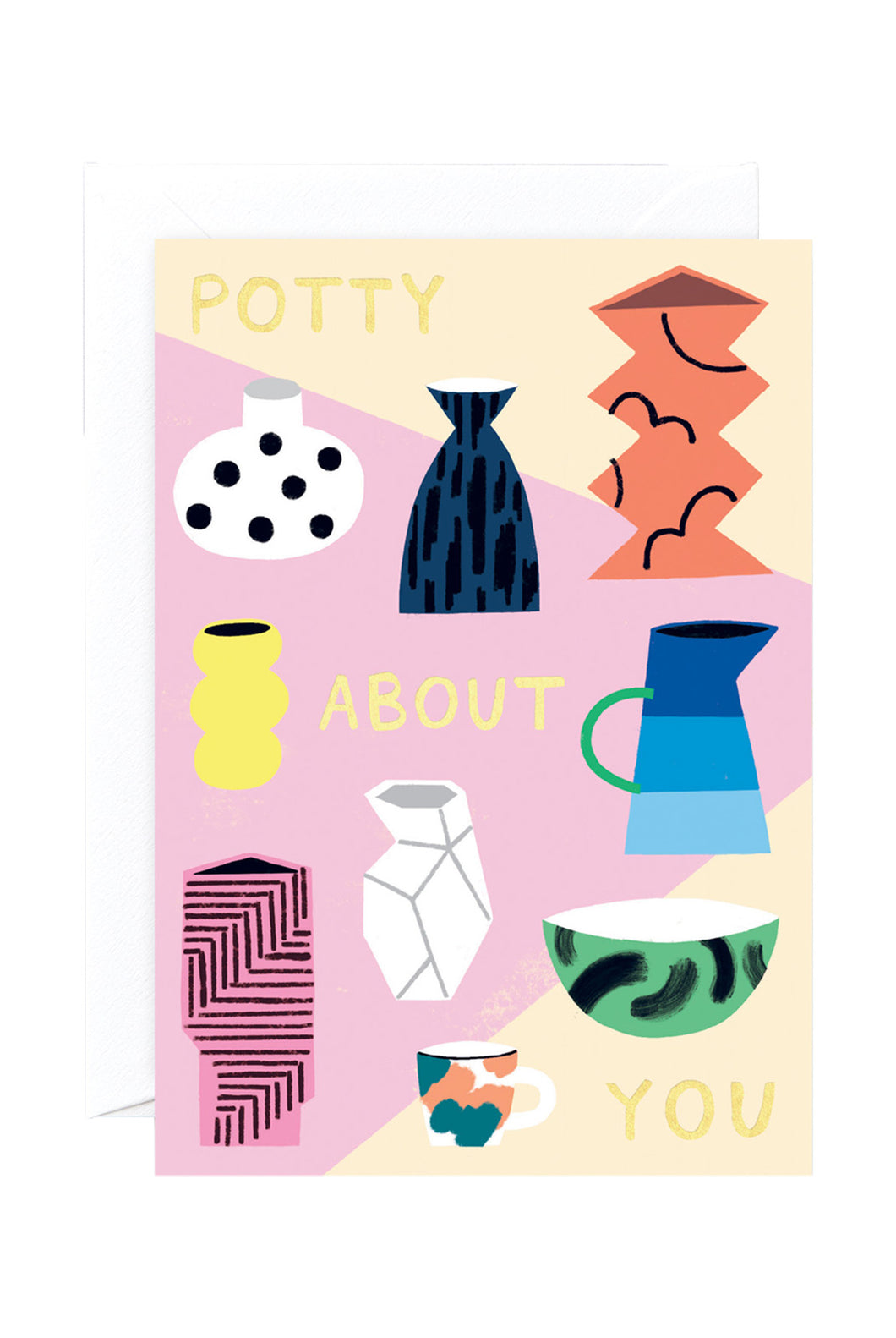 WRAP - Charlotte Trounce Collection - Single Card with Foil - Potty About You
