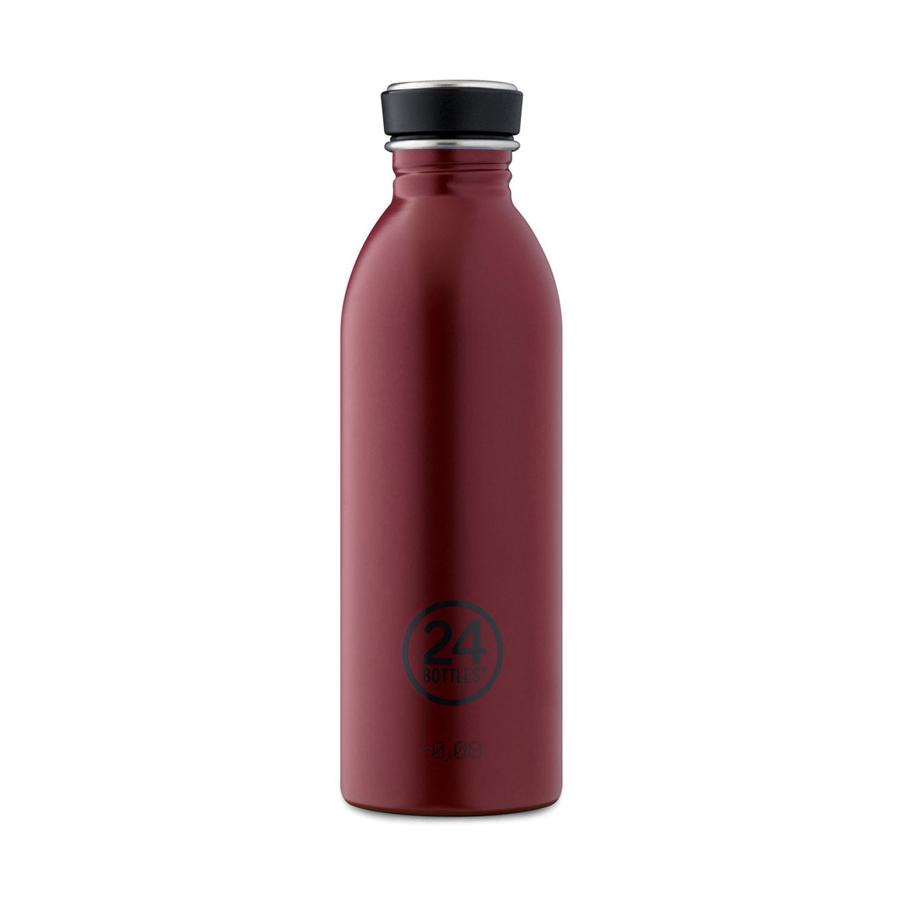 24Bottles - Earth Collection - Urban Bottle - Stainless Steel Drink Bottle - 500ml - Country Red