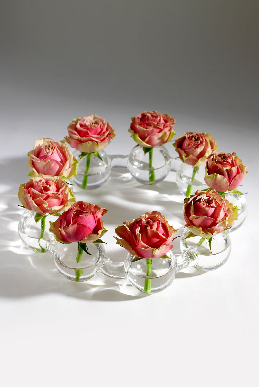 Serax - Floristry Collection - Glass Crown Vase - 9 Balls