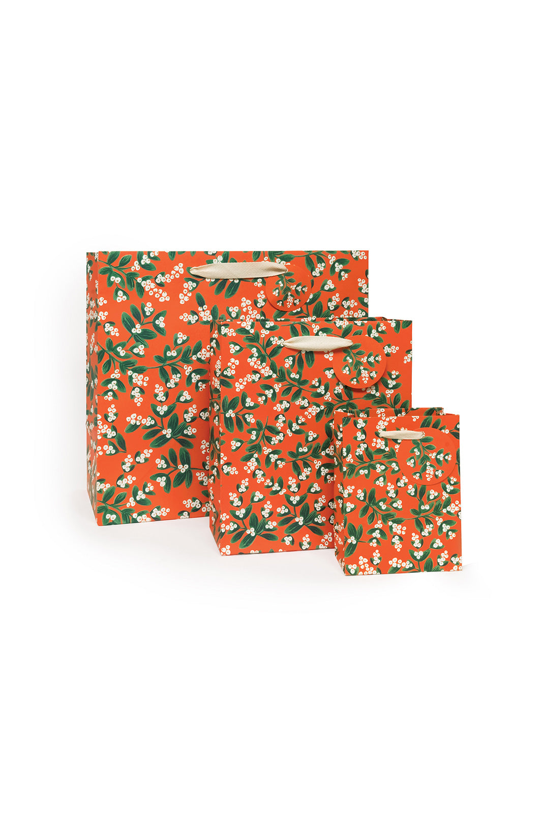 Rifle Paper Co - Gift Bag - Medium - Mistletoe