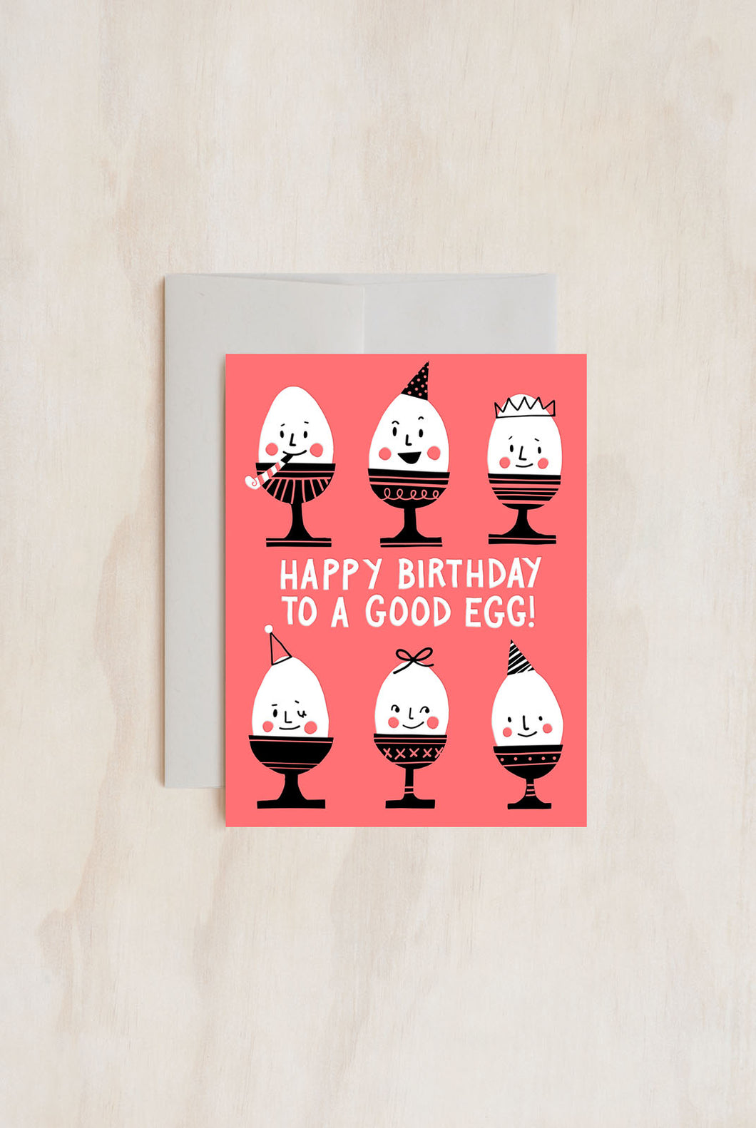 Hello Lucky - Single Card - Happy Birthday to a Good Egg