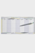 Load image into Gallery viewer, Papier Tigre - Weekly Undated Desk Planner - 15x30cm - The Course