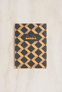 Rhodia - Heritage Notepad - Ruled - A5 - Escher Black