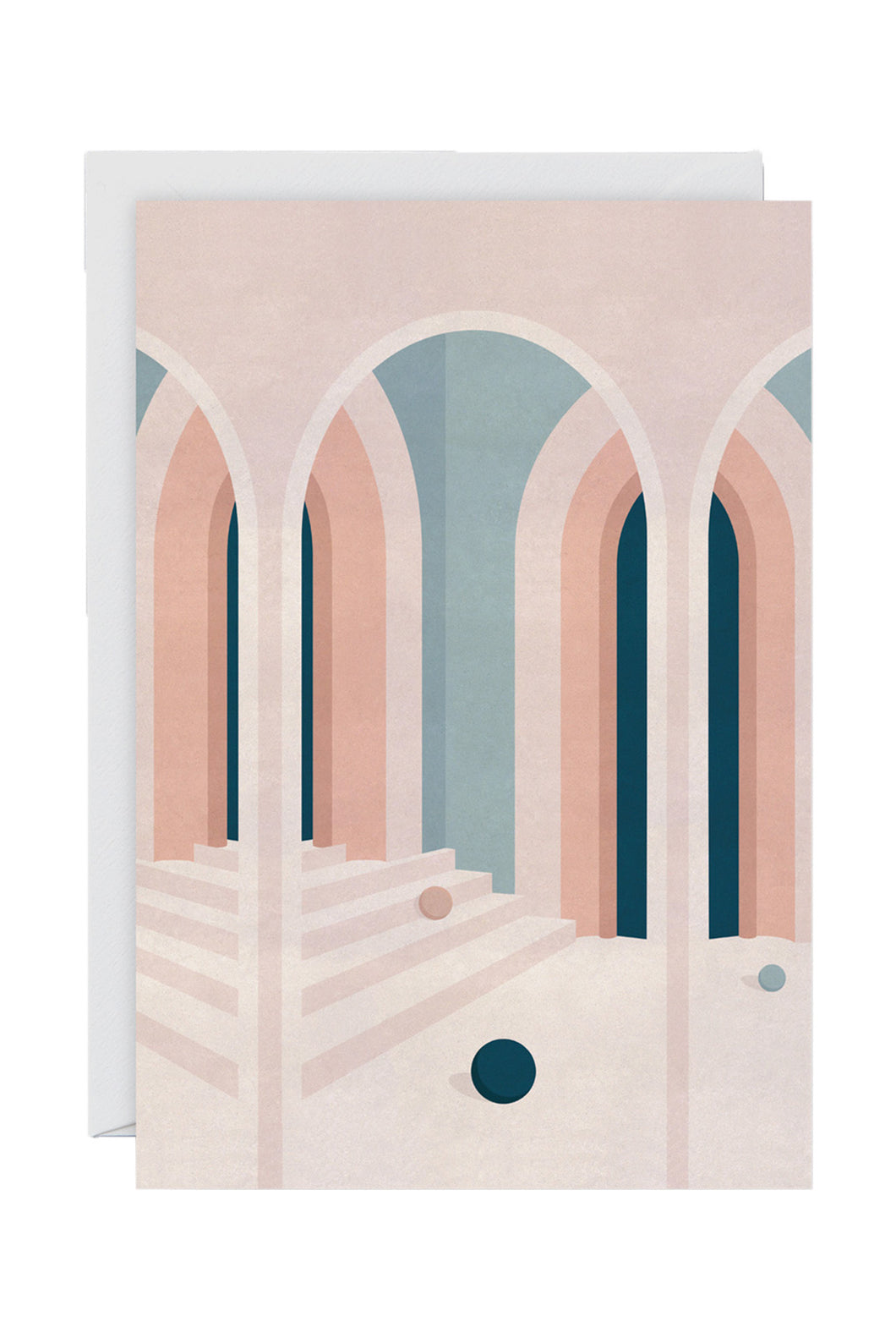 WRAP - Charlotte Taylor Collection - Single Art Card - Pastel Arches