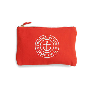 The School Of Life - Emotional Baggage - Pouch - Orange