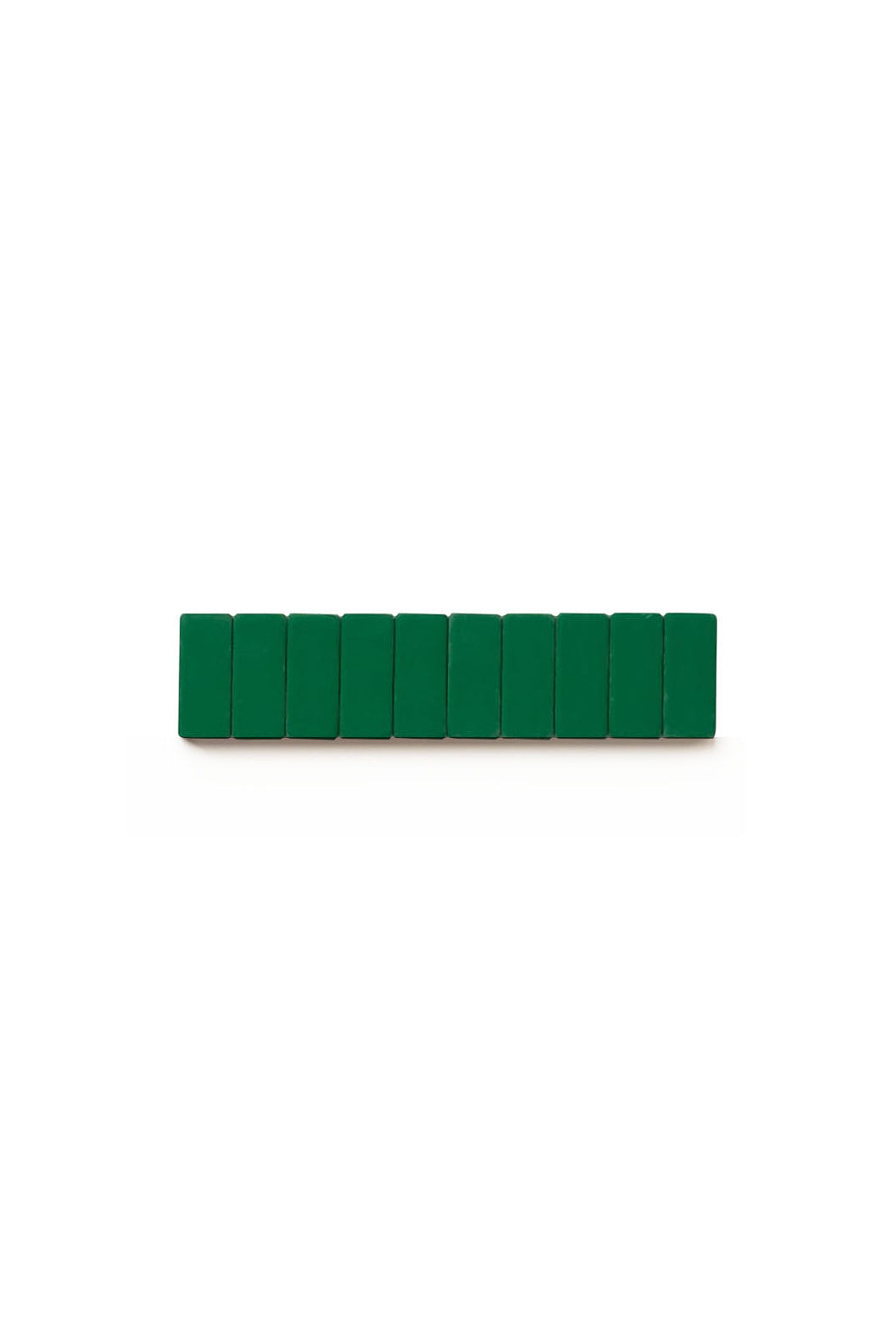 Palomino Blackwing - Pencil Replacement Erasers - Pack of 10 - Green