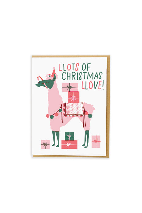 Hello Lucky - Single Card - Llots Of Christmas Llove