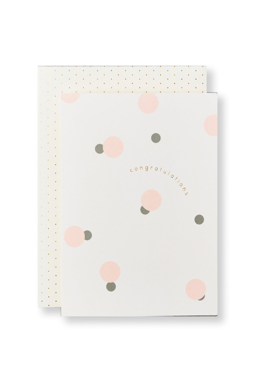 Katie Leamon - Single Card - Congratulations Polka