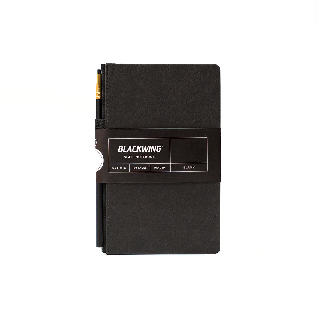 Palomino Blackwing - Slate Journal Drawing Book - Plain - Large (13x21cm) - Hard Cover - Black