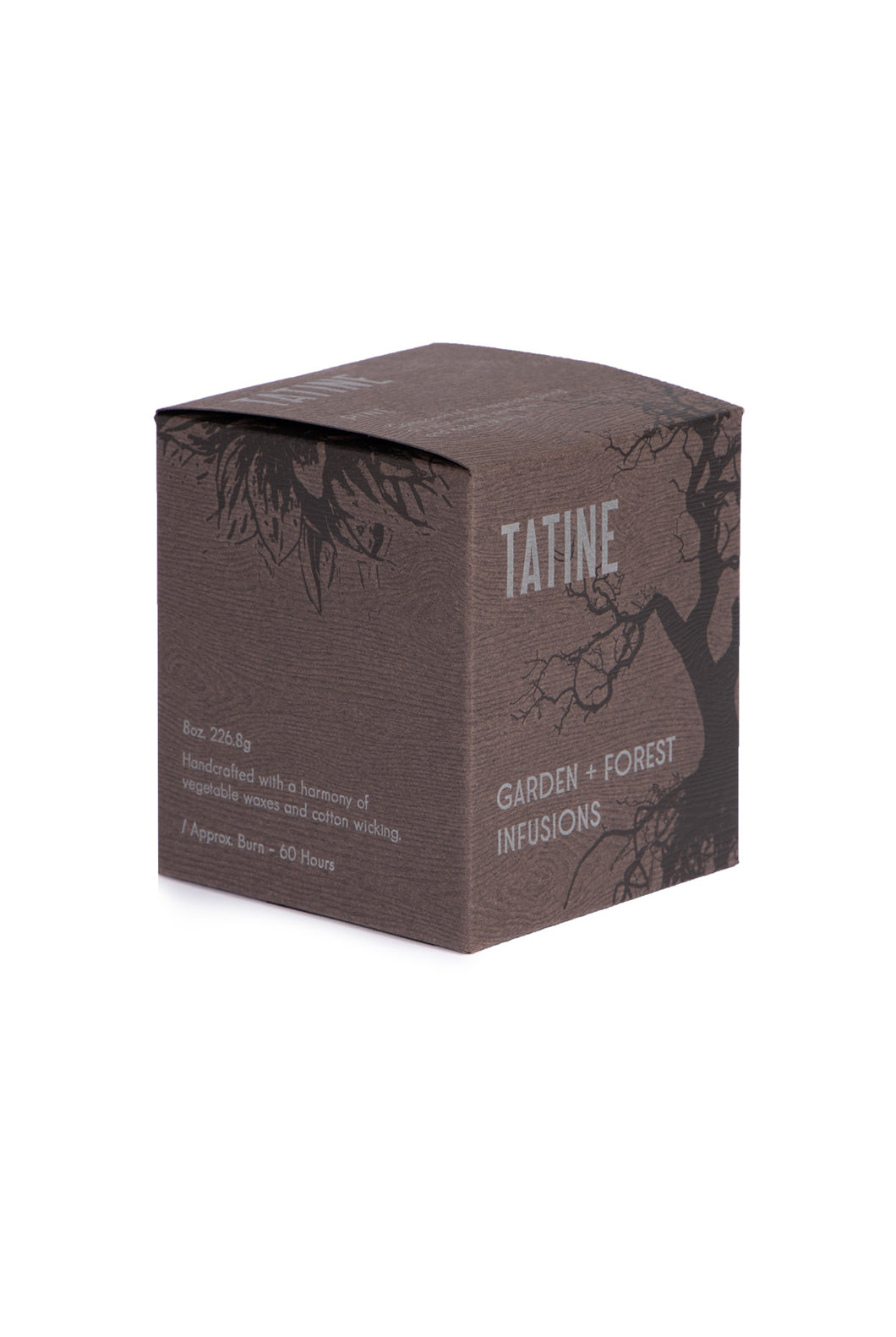 Tatine - Scented Candle - Garden and Forest Infusions Collection - Pine