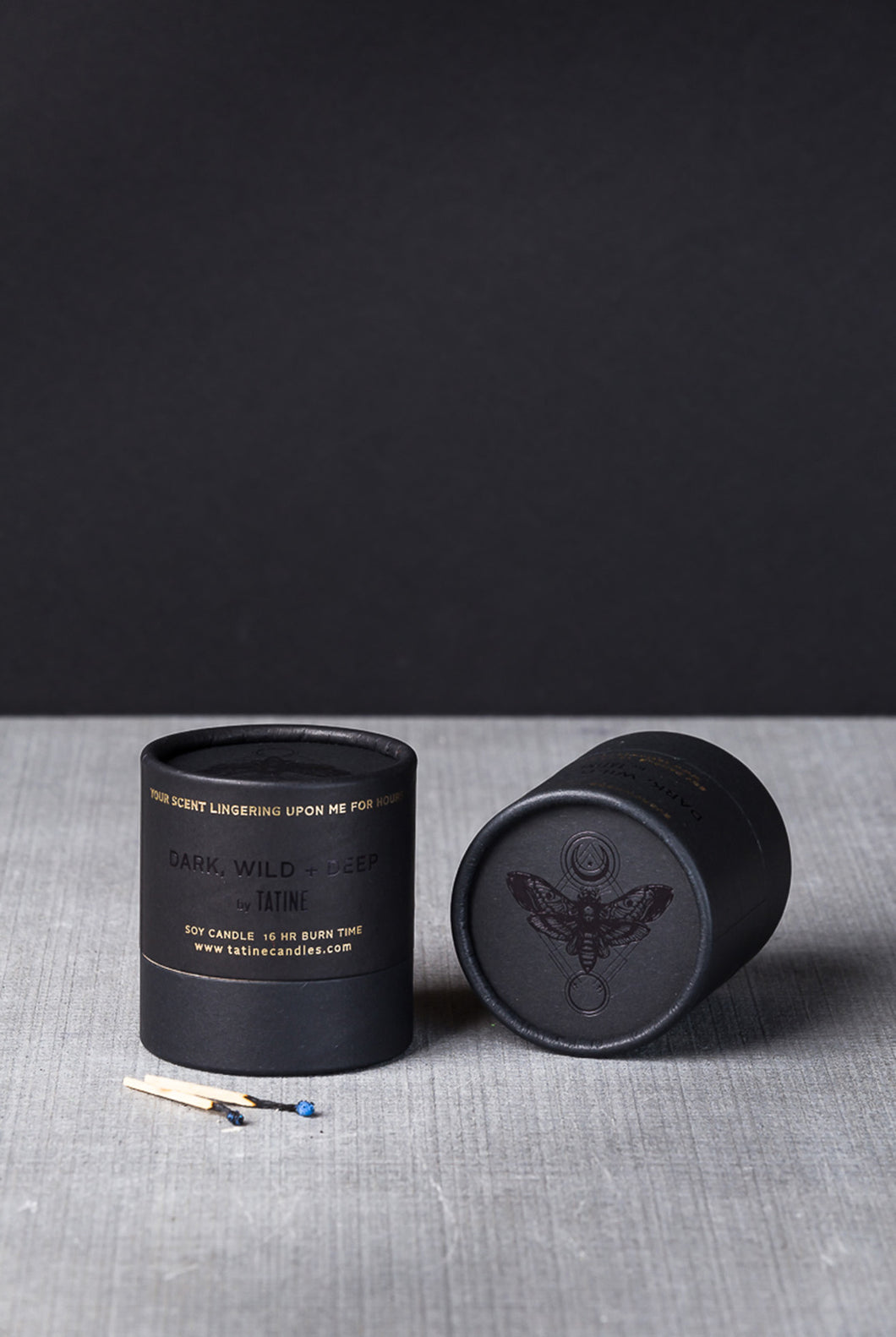 Tatine - Scented Candle - Dark, Wild, and Deep Collection - Purple Flowers