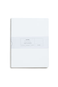 Palomino Blackwing - Pearl Summit Notebook - Plain - B5 (19x25cm) - Soft Cover - White