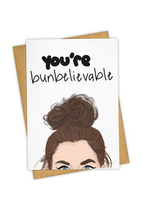 TAY HAM - Single Card - You're Bunbelievable