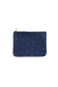 Delfonics - Cotton Pouch - Star Collection - Dark Blue