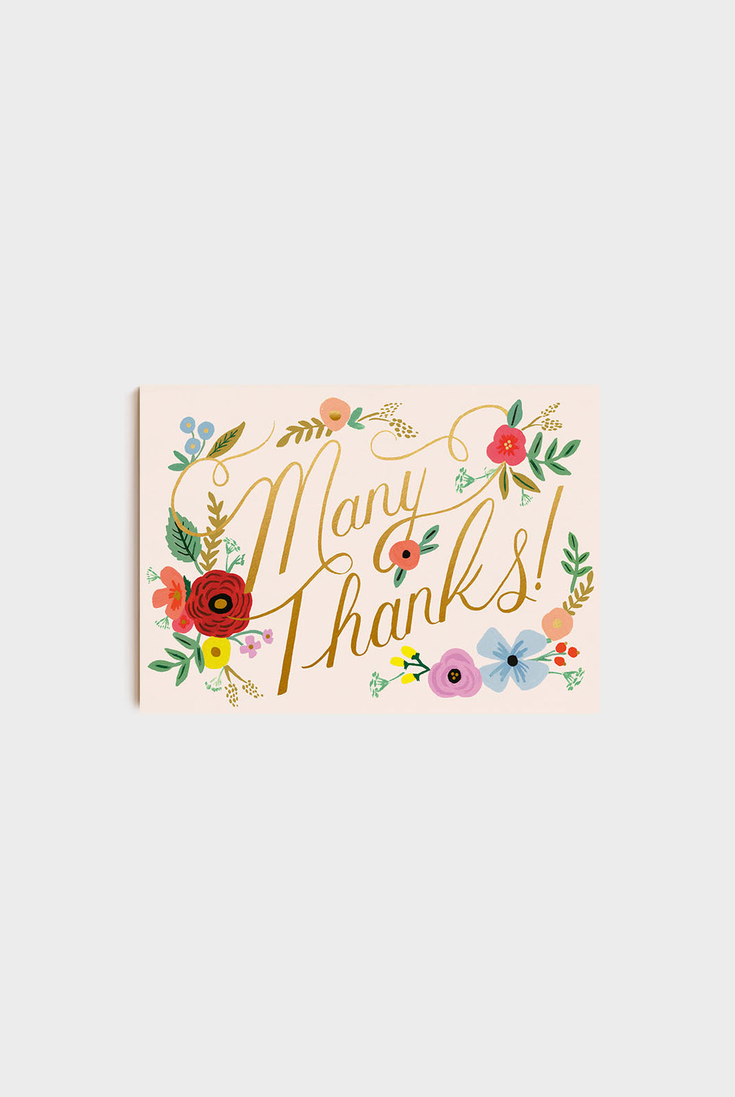 Rifle Paper Co - Postcards - Pack of 10 - Bouquet Thanks