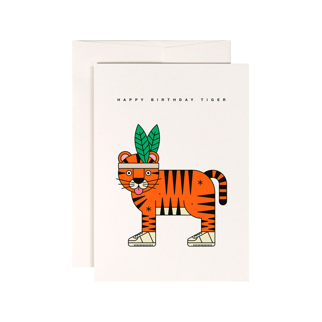redfries - Single Card - High Five Tiger