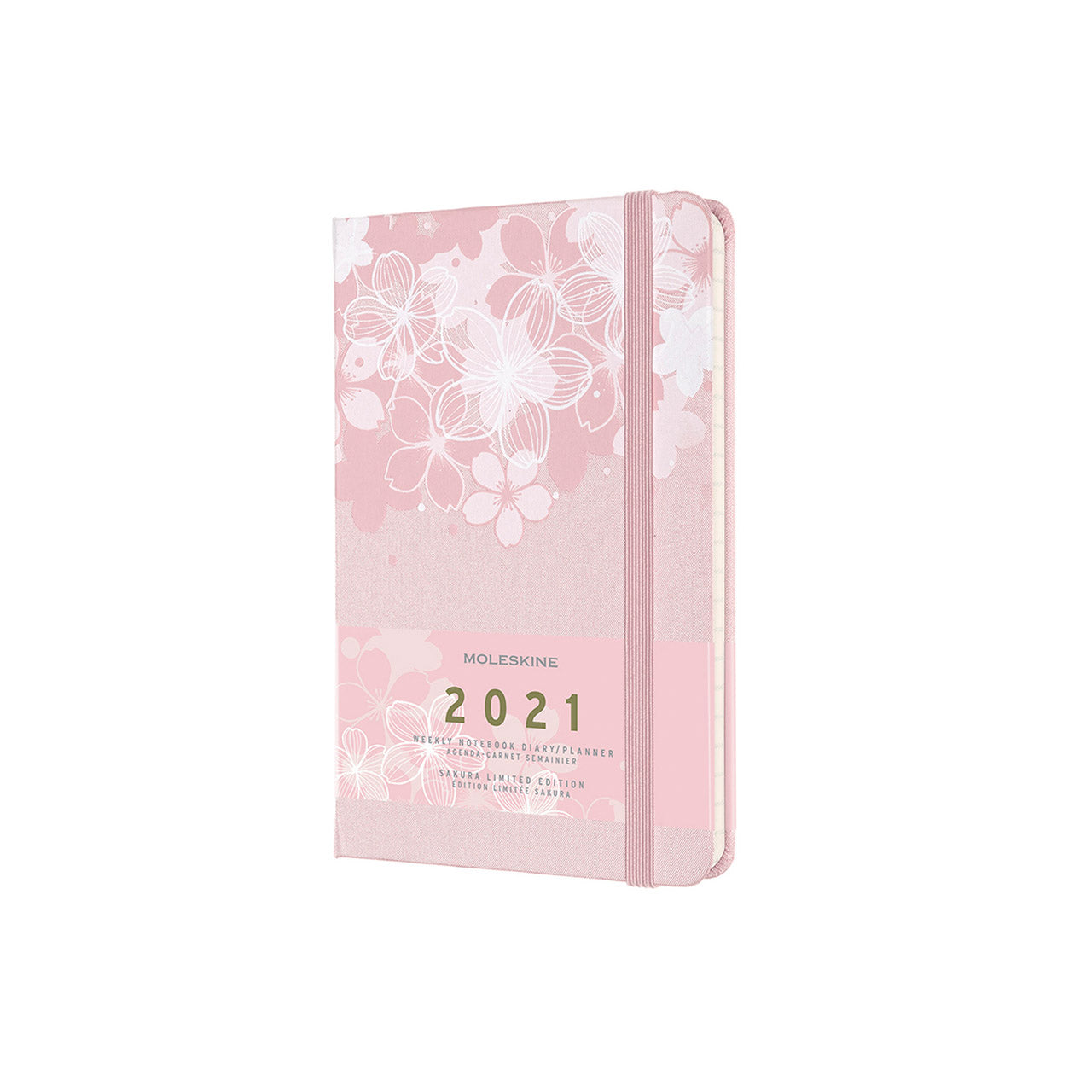 Moleskine - Limited Edition Sakura Notebook -  2021 12 Month Weekly - Large