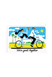 WRAP - Lawrence Slater Collection - Single Card - We're Great Together