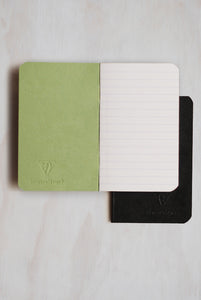 Clairefontaine Essentials - Duo Book - A7 (7.5x12cm) - Ruled - Assorted
