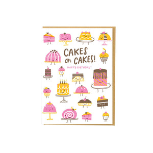 Hello Lucky - Single Card - Cakes On Cakes
