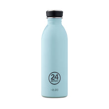Load image into Gallery viewer, 24Bottles - Pastel Collection - Urban Bottle - Stainless Steel Drink Bottle - 500ml - Cloud Blue